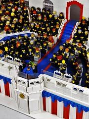 Obama Inauguration (brick.spartan) Tags: brick history lego obama inauguration moc minifigures