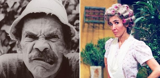 Neta de Madruga cutuca Florinda: ?Meu avô drogado? Você invadia casamentos?