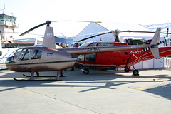 ZS-RUJ Robinson R.44 II AV8 Helicopters @ Ysterplaat 24-Sep-2010 by Johan Hetebrij (Balloony Dutchman) Tags: africa african south helicopter ii helicopters robinson airfield 2010 airbase afb aad av8 ysterplaat r44 zsruj