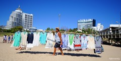 """Clothes in the wind"" - ""Ropas al Viento"" (fotoglocor) Tags: street city trees light sea summer sky people sun color love sport club del america buildings boats puerto uruguay photography harbor iso200 spring nikon colorful moments day waves wind yacht gulls air south joy cameras anchor punta looks este f28 tradicion 15000 d3s"