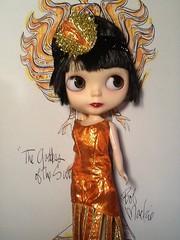 """Blythe-a-Day#15 The Sun: LaVern, """"Goddess of the Sun"""""""