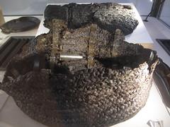 COMACCHIO - Museo della Nave Romana (Roman Shipwreck Museum): Remains of fishing tools (Andra MB) Tags: italien italy vacances italia roman urlaub shipwreck italie emiliaromagna 2015 vacanta concediu epave epava commachio
