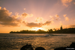 Haena Sunrise (Mark Griffith) Tags: vacation hawaii springbreak kauai haena sonyrx1m2 bestof2016 bestofapril2016 20160413dsc04632