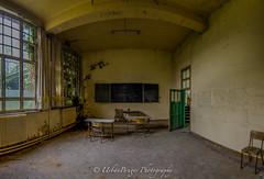 Green school (UrbanBruges) Tags: school urban lost nikon belgium decay forgotten d750 urbex d7000 urbanbruges