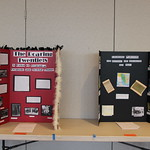 Two history project presentations on the Roaring Twenties and the Louisiana Purchase.