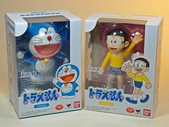 Bandai  Figuarts Zero  Doraemon and Nobi Nobita ( & )  Box Art (My Toy Museum) Tags: friend figure doraemon zero bandai nobita nobi figurarts