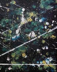 cataclysm (thenamesminxi) Tags: abstract blur art window rain painting artist acrylic crash crying headlights shatter minxi artofminxi