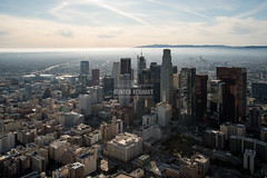 Downtown LA Skyline (HunterKerhart.com) Tags: mist fog architecture la smog losangeles haze downtownla dtla labasin wilshiregrand losangelesbasin downtownlaskyline hunterkerhart