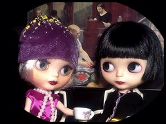 Blythe-a-Day March #6 Mothers Day/Mothering Day: Daisy Buchanan & LaVern La Rue Have a Talk...