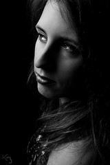 20160220-DSC04291 (borremans_kevin) Tags: portrait people blackandwhite bw woman sony indoor portret zwart wit vrouw