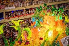 Tropical (Rice Bear) Tags: carnival brazil rio brasil riodejaneiro br feathers palmtrees tropical carnaval float floats carioca bikinis sambadromo sambadrome carnival2016 riocarnival2016