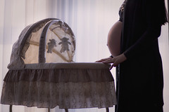 Pregnant Woman (freestocks.org) Tags: bear family woman baby female mom toy person kid infant child sleep birth mother pregnancy pregnant belly maternity parent newborn crib cradle childbirth