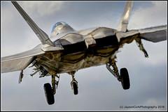 F-22A Raptor (JaysonCork) Tags: photography fighter martin florida cork air jet landing ty raptor jelly missile lockheed raf jayson fs squadron afb tyndall 95th lakenheath supremacy superiority f22a eflux