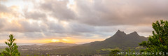 Olomana Sunrise (j . f o o j) Tags: hawaii kailua olomana nikkor50mmf12ais nikond610