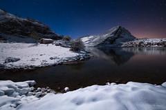Cold Night (diegogm.es) Tags: espaa lake snow get cold night de stars lago noche nieve asturias olympus estrellas enol covadonga cangas onis olympusuk olympusiberia