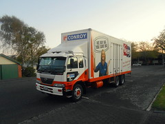 Conroy Removals Nissan Diesel PK260 (miledorcha) Tags: new travel holiday wheel truck island three big nissan diesel furniture north transport save goods lorry zealand delivery service trucks kiwi six ltd wanganui conroy removals ud axle manawatu haulage fjq478 pk260
