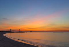 Q14A1159 (Val. Shvetsov) Tags: ocean bridge sky beach water yellow sunrise statenisland