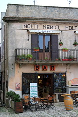 Bar in Erice, Sicily (lorenzhome) Tags: old italy bar town sicily erice