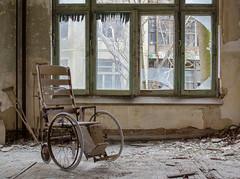 TB Hospital (FWDPhotography) Tags: newyork abandoned window hospital photography photo nikon flickr photographer decay urbandecay wheelchair explore urbanexploration decrepit derelict urbex tuberculosis d5100