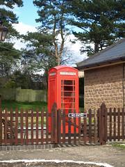 Phonebox, Winchcombe Station (Oz_97) Tags: winchcombe