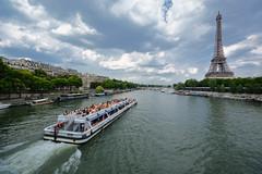 D71_4706A (vkalivoda) Tags: paris france tower water river boat ship ngc eiffel seina lo eka pa