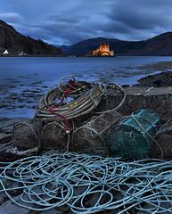 ~ (UndaJ) Tags: castle highlands fishing eilean donan