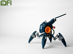 (Dead Frog inc.) Tags: eh lego space walker tablescrap darkbluecuzwhynot