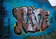 Rude (TripleS2007) Tags: art abandoned grafitti rude urbex