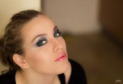Raquel (JaviJ.com) Tags: madrid espaa woman green girl beauty fashion mujer spain model eyes europa europe chica moda makeup raquel modelo maquillaje pathmakeup