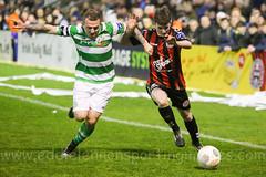Bohemian FC v Shamrock Rovers FC (ExtratimePhotos) Tags: ben mohammed gary mccabe aymen