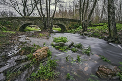 Yeltes (arribamarcos) Tags: salamanca largaexposicion castillayleon puentedepiedra cerecedadelasierra rioyeltes haidand1000