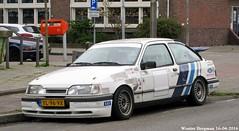 Ford Sierra 2.0i CL 1990 (XBXG) Tags: auto old holland classic ford haarlem netherlands car vintage germany deutschland automobile nederland voiture sierra german allemagne paysbas cl 1990 deutsch ancienne duits fordsierra 20i allemande yl96vx