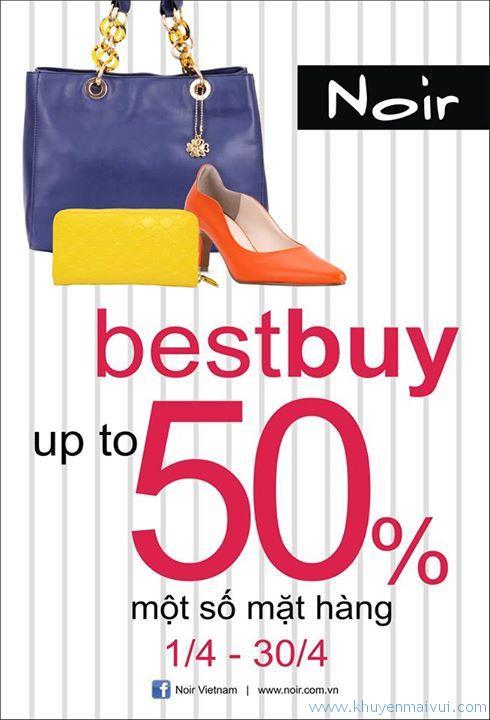 Noir - tưng bừng giảm giá lên đến 50%!!!