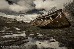 I'm a Wreck in the Morning (SkyeWeasel) Tags: boat rust wreck boatwreck obinbhirsgeinnidh