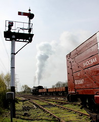Passing Goods (Duck 1966) Tags: train goods steam signals locomotive swithland gcr jinty timelineevents