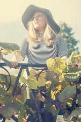 (Bethany Mowat) Tags: autumn winter red summer white black green castle girl hat leaves weather fashion modern studio landscape outside scotland spring clothing shoes dress photoshoot stripes makeup sunny location clothes jeans aberdeen dresses blonde accessories leafs crathes