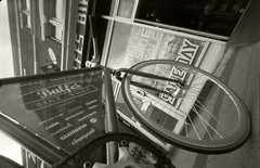 Local Bike Shop (biker500) Tags: bicycle zeiss pinhole wppd homemadecamera ddx foma100