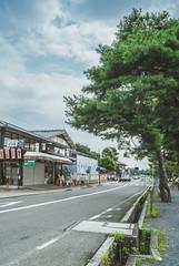 Street View (aludatan) Tags: life street travel japan kyoto arashiyama     streetshot  astoundingimage