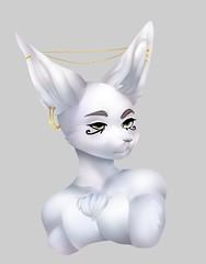 Bedroom Eyes (etherasfox) Tags: boy white male eye eyes fluffy fem twink bust fairy fox horus gaze trap boi fennec eyeofhorus prettyboy fennecfox vulpine femboy prettyboi femboi foxboy eyesofhorus etheras foxboi higgyy eyeofetheras eyesofetheras
