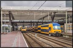27-04-16 NSR DDZ 7608 + 75xx, Rotterdam Centraal (Julian de Bondt) Tags: rotterdam ns centraal nsr ddz