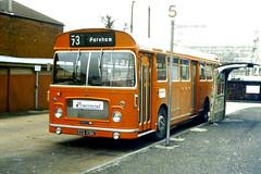 Slide 056-59 (Steve Guess) Tags: uk red england bus bristol hampshire gb re provincial ecw rell hants hantsdorset ecg109k