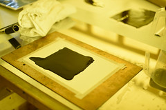 Carbon Printing at Prynne Chapel (FOTONOW (CIC)) Tags: work paper print photography photo printer plymouth chapel workshop printing teaching practice carbon process alternative prynne fotonow carbonprinting
