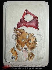 PerlEdition_NO.002_Kyra (wandklex Ingrid Heuser freischaffende Künstlerin) Tags: ingrid watercolor foto etsy comission malerei heuser dawanda auftragsmalerei wandklex