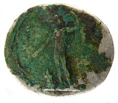 Denarius of vespasian, 76 AD (Welcome to The PAST) Tags: hammered treasure roman brooch medieval hoard republican ironage fibula denarius denarii