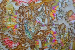 Crazy Mural (gec21) Tags: newzealand mural panasonic nz napier hawkesbay 2015 dmctz20