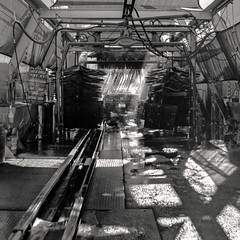 2015-12-31 this is the end (Robert Couse-Baker) Tags: 120 film carwash 365 mustang tmax100 yashicamat124g 2015 3652015imstillstanding