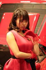 Osaka Motor Show 2015 (Ogiyoshisan) Tags: portrait people girl car japan japanese indoor event   osaka  motorshow