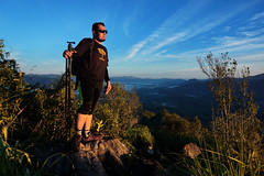 I am photographer, i am hiker (Abamjiwa Al-Hadi) Tags: travel people mountain trekking hiking peak hike mount malaysia hiker gunung kedah trekker baling gunungbaling