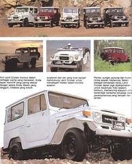 1981 Toyota FJ40 Land Cruiser (Hugo-90) Tags: ads advertising indonesia toyota catalog 40 suv brochure fj landcruiser