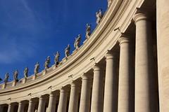 Curves (Teo Senbei) Tags: november autumn italy rome roma canon eos italia novembre columns vaticano sanpietro autunno vaticancity 2014 colonnato speters 450d platinumheartaward